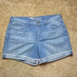 Old Navy The Sweetheart Jean Shorts Size 12